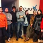 equipo NeuronUP, empresa de rehabilitación cognitiva