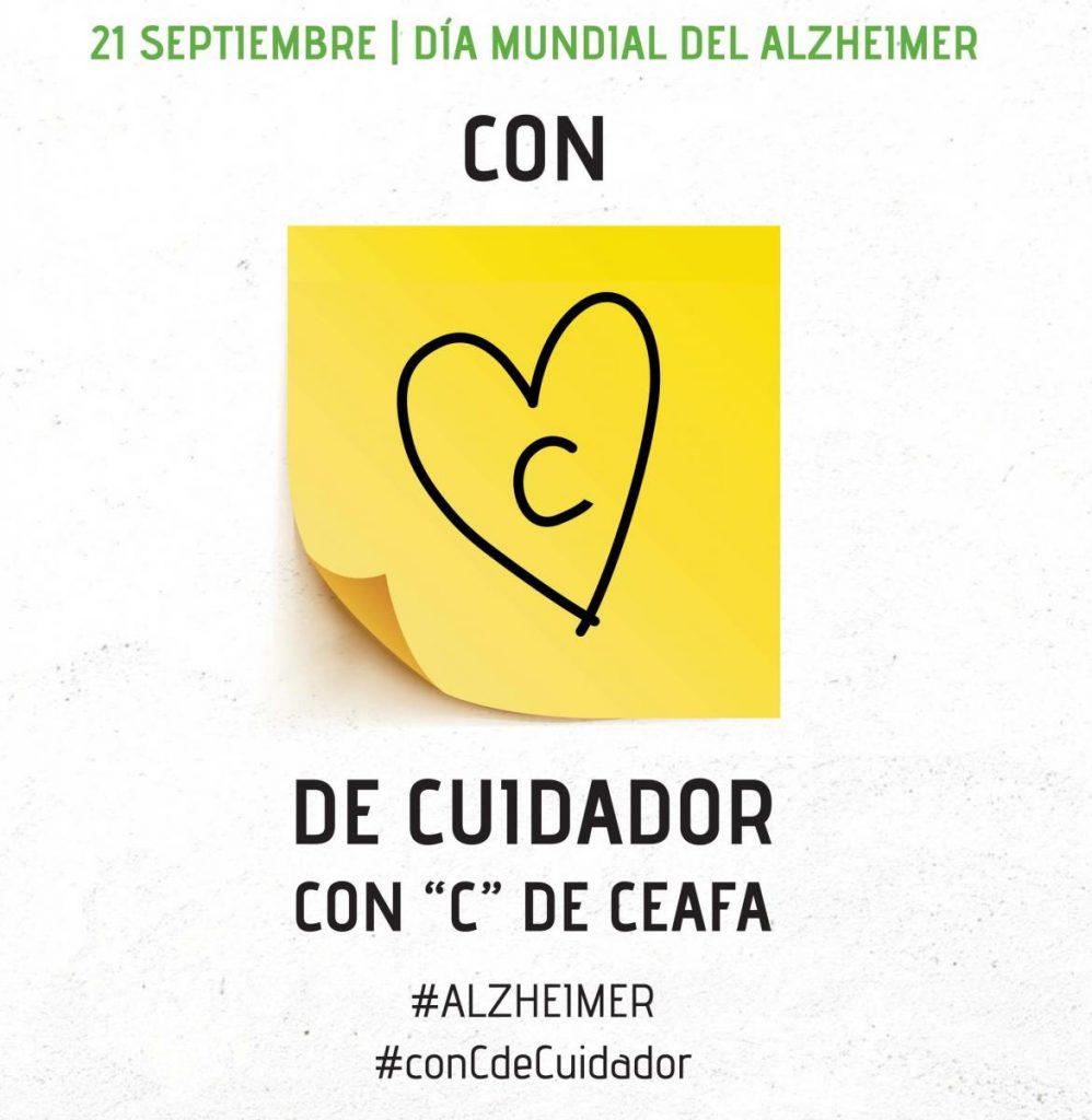 ConCdeCuidador Día mundial del Alzheimer