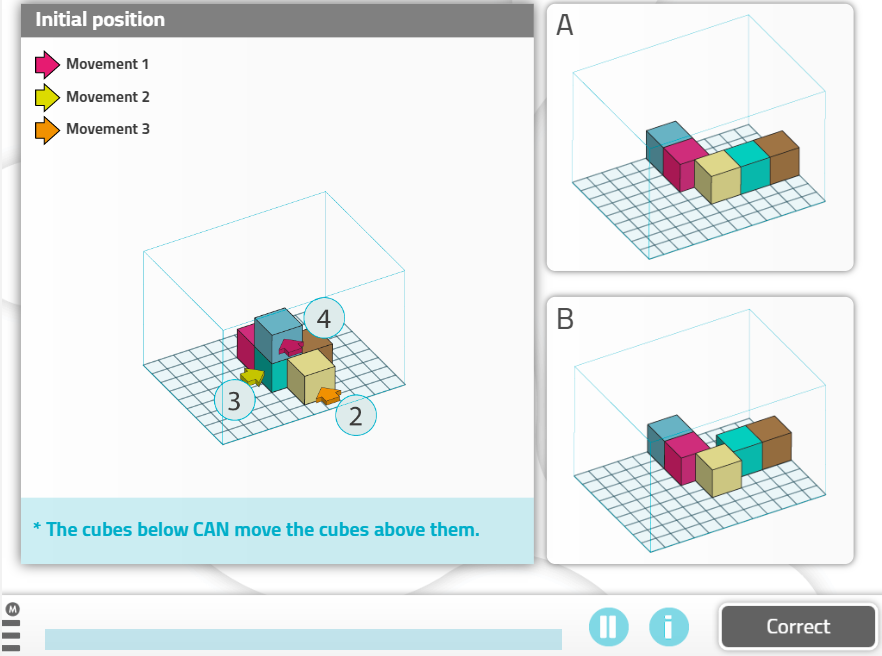 10 Cognitive Stimulation Activities for People with Parkinson's Disease - moving cubes