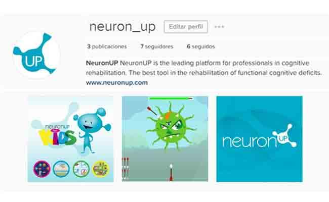 NeuronUP se une a la red social Instragam