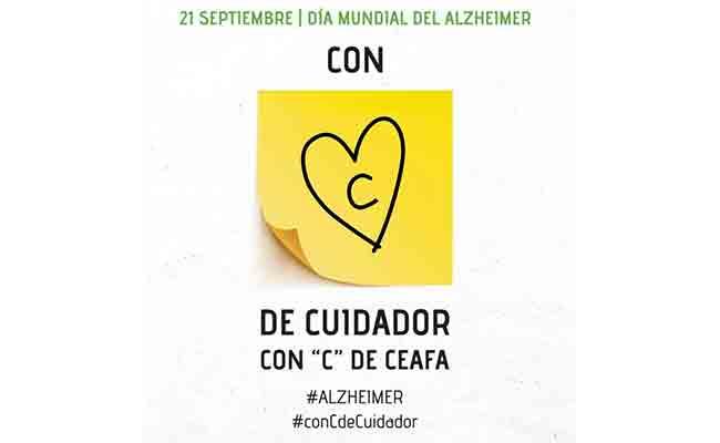 CEAFA reivindica el valor del cuidador de las personas con Alzheimer