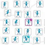 estimulación cognitiva para adultos-unir figuras por parejas-avanzado