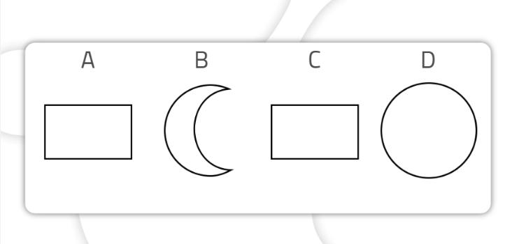 ejercicios para mejorar la atención_Encontrar las figuras iguales-fácil