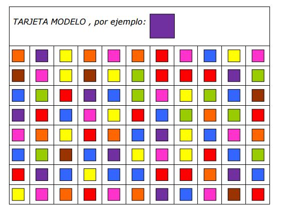 fichas de estimulación cognitiva para trabajar las gnosias - identificar colores