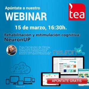 webinar sobre rehabilitación y estimulación cognitiva