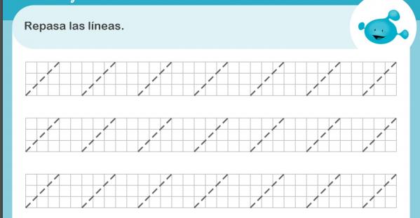 10 ejercicios para estimular el lenguaje- sigue las líneas