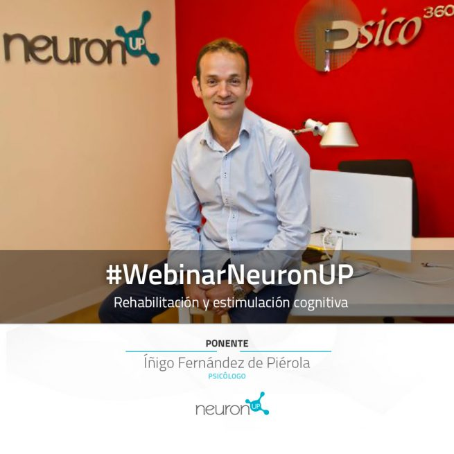 webinar NeuronUP plataforma web de rehabilitaicón y estimulación cognitiva