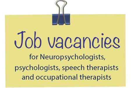 Ofertas de empleo para profesionales de la neurorehabilitación