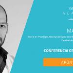 El neuropsicólogo Marcos Ríos realizará una ponencia sobre la lentitud en el procesamiento de la información