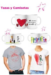 Camisetas diseñadas por personas con autismo T-shirts and mugs designed by young people with autism