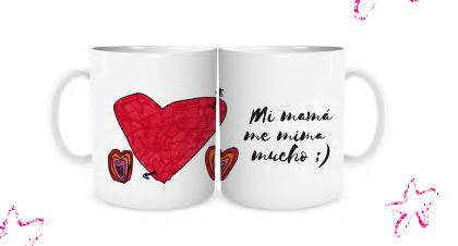 Camisetas y tazas diseñada - s por jóvenes con autismo - T-shirts and mugs designed by young people with autism