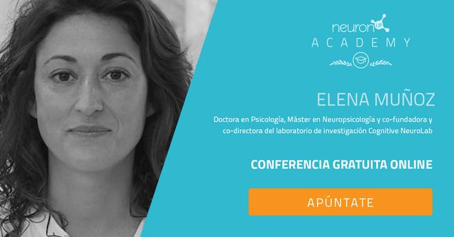 La neuropsicóloga Elena Muñoz realiza una ponencia sobre la estimulación magnética transcraneal en la rehabilitación neuropsicológica