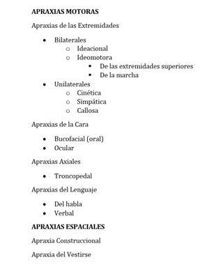 Guía Breve para la Revisión de Literatura sobre Apraxias Vol. 2
