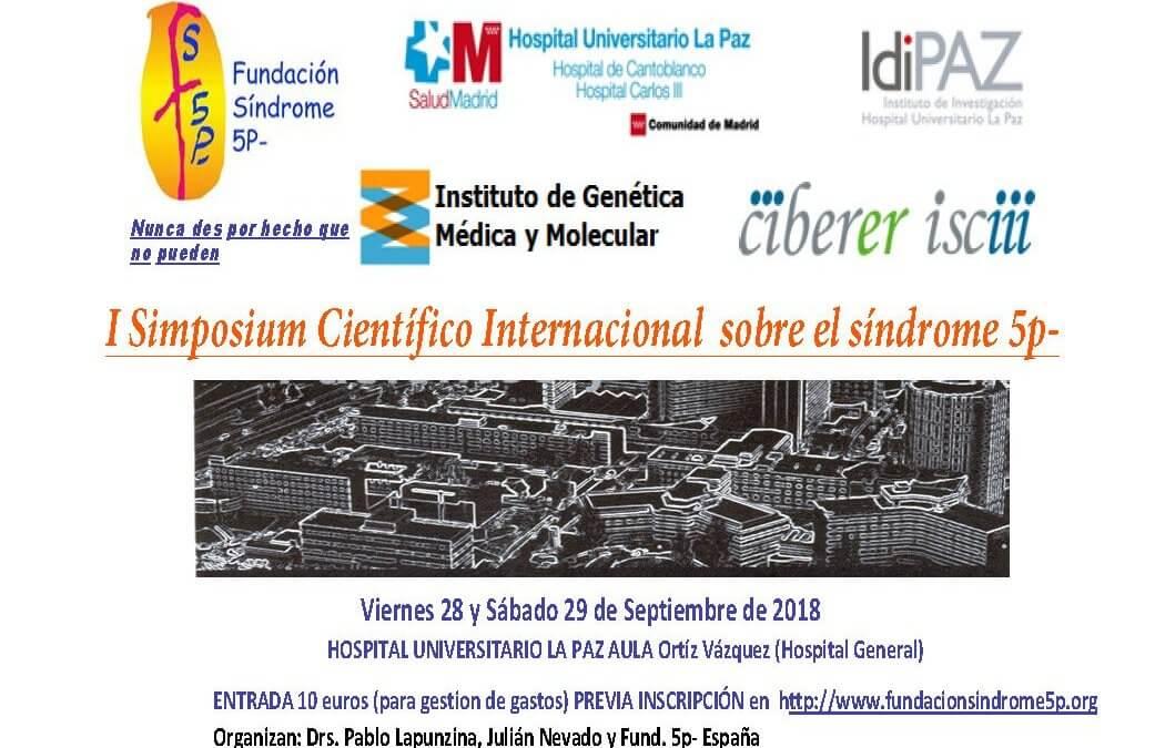I Simposium Científico Internacional sobre el síndrome 5p-