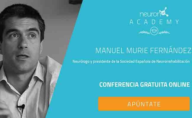 El presidente de la Sociedad Española de Neurorrehabilitación, Manuel Murie, impartirá una ponencia gratuita sobre neurorrehabilitación