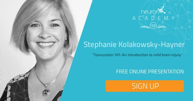Ponencia online y en inglés de la Dra. Stephanie Kolakowsky-Hayner sobre daño cerebral leve