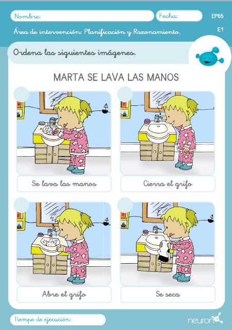 imprimir actividades para niños con discapacidad intelectual