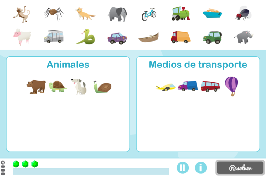 Estrenamos generador infantil para trabajar la memoria semántica