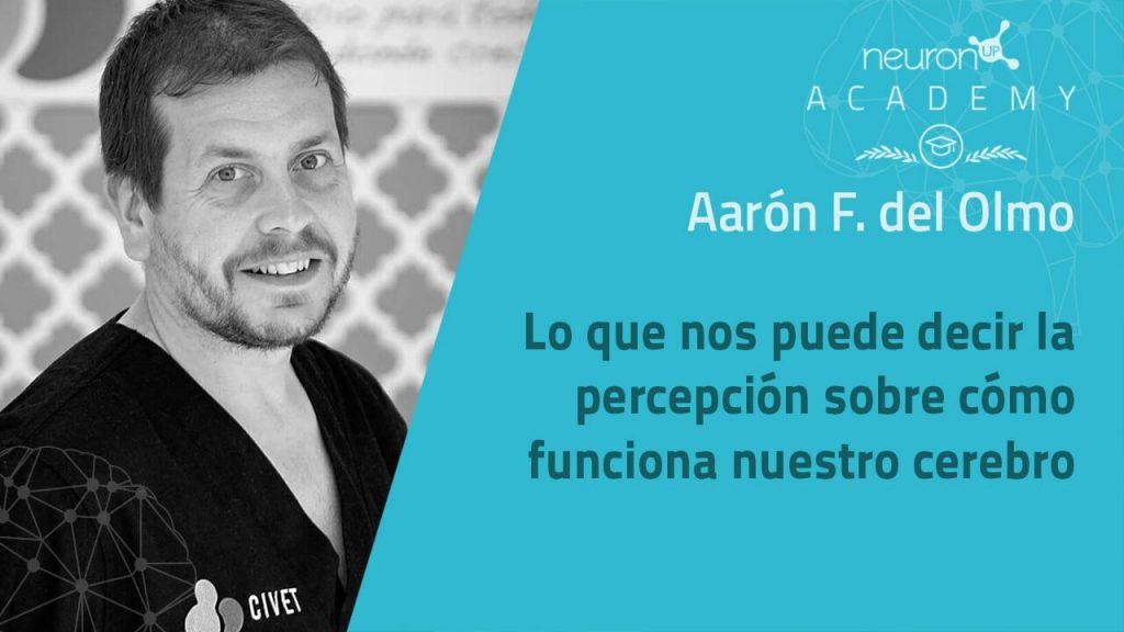 Aarón Del Olmo responde a las dudas sobre su ponencia sobre cerebro