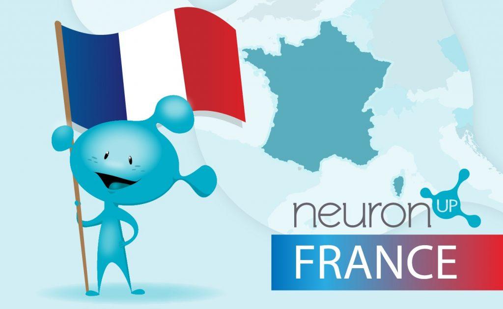 NeuronUP aterriza en Francia ¡¡¡NeuronUP ya está disponible en francés!!