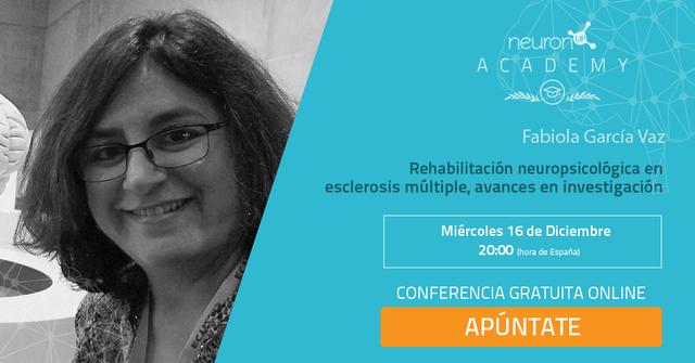 Ponencia de Fabiola García Vaz: Rehabilitación neuropsicológica en esclerosis múltiple