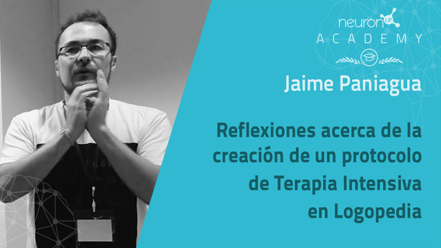 Terapia Intensiva en Logopedia: Jaime Paniagua responde a las dudas