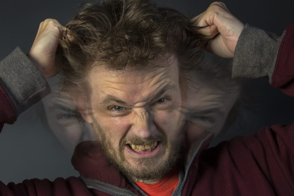 Tratamiento esquizofrenia. Persona con esquizofrenia